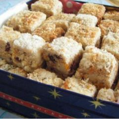 Fruit and Nut Cookie Bars