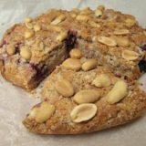Peanut Butter Berry Cake