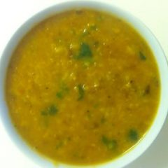 Golden Mung Dal Soup