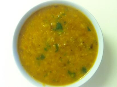 Golden Mung Dal Soup