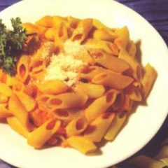 Penne with Herbs & Tomato Sauce