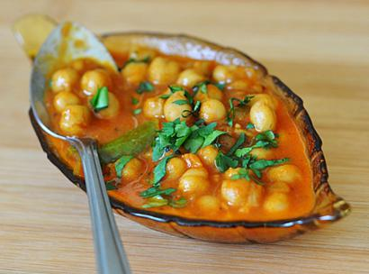 Channa Masala Whole Chick Pea Curry