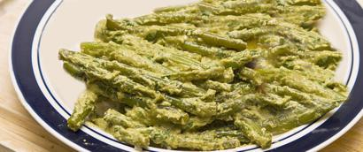 Green beans in Yogurt-Poppy Seed Sauce