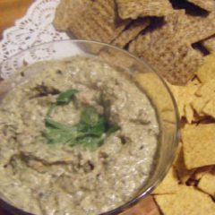 Artichoke and olive dip
