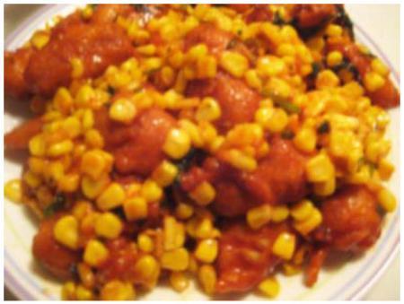 Baby Corn Manchurian
