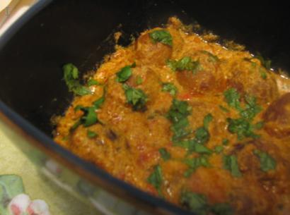 Baby Potatoes in Tomato Yogurt Sauce Dum Aloo