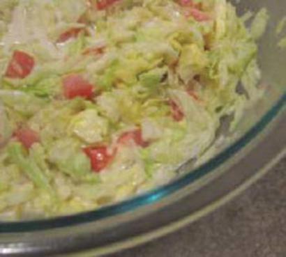 Lettuce Tomato Salad