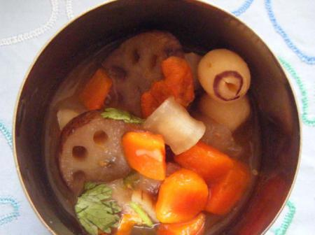 Lotus Root Soup | Veg Recipes By ISKCON Desire Tree - Part 410