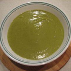 Pea and Broccoli Soup