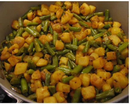 Potatoes Beans