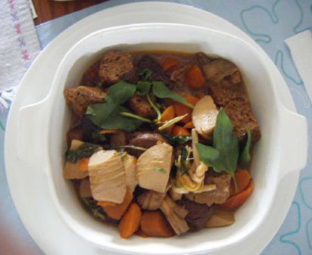 Tofu and Veggie Stew