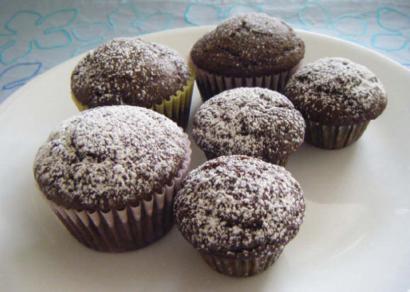 Carob Cup cakes