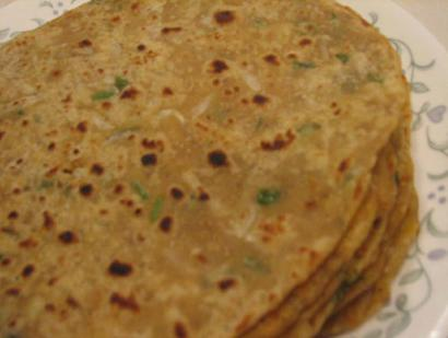 Griddle Fried Radish Flatbreads Mooli Paratha