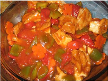 Sweet and sour veggie
