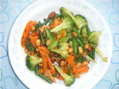 Veggie with Black Soy Beans