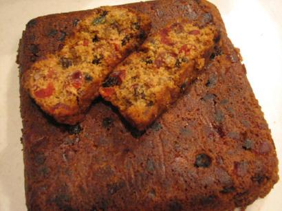 Christmas Fruitcake 1