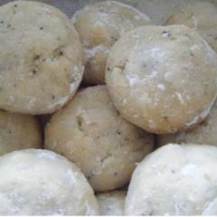 Midsummer Lemon Poppy Seeds Cookies