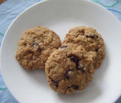 Oatmea lraisin cookies