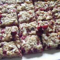 Out of this world Cranberry Bars