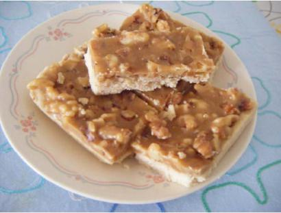 Pecan Toffee Short bread