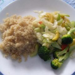 Quinoa and Stir Fried Vegetables