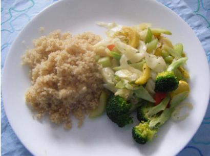 Quinoa and Stir Fried Vegetables