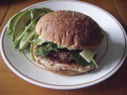Vegetarian Sloppy Joes Sandwich