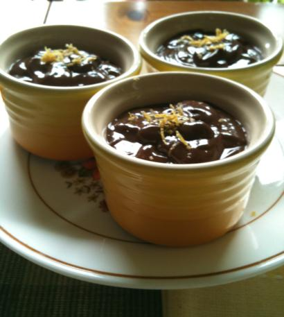 Chocolate Tofu Pudding (Vegan)