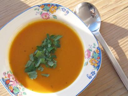 Carrot Corriander Soup