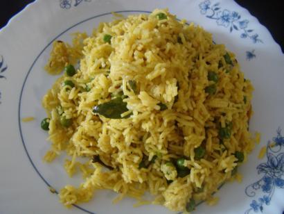 Peas Bhath