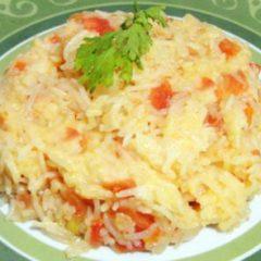 Tomato Cheese Rice