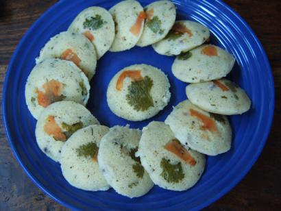 Vegetable Idli