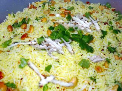 Piquant Lemon Rice