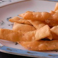 Golden Pastry Chips
