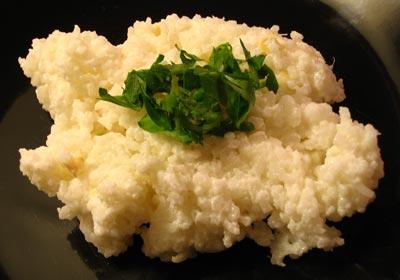 Rice with Ginger-Seasoned Yogurt