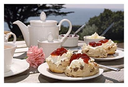 Buttermilk Scones with Jam & Cream