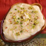 Creamy, Saffron-infused Condensed Yogurt Dessert