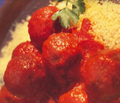 Succulent Mixed Vegetable Balls in Herbed Tomato Sauce