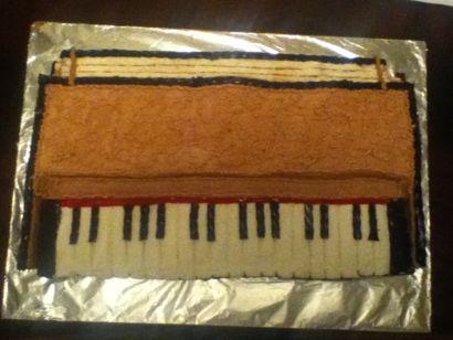 Harmonium Orange cake