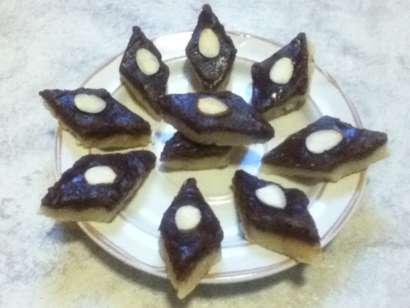 Chocolate Mawa Burfi