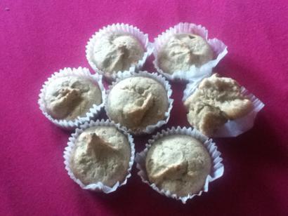 Wheat Germ Corn Muffins