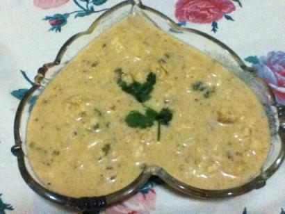 Ekadashi Peanut Curry