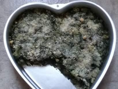 Ekadashi Potato and Spinach Pie