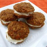 Carrot Cake Oatmeal Cream Pies