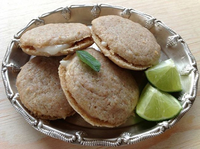 Key Lime Sandwich Cookies