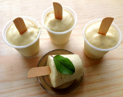 Shrikhand Popsicles