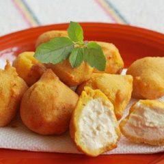 Spicy Yogurt Cheese Pakoras