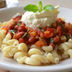 Veggie Beans and Macaroni