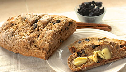 Yeast free Cinnamon Raisin Bread