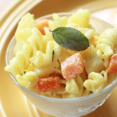 Carrot and Potato Cold Pasta Salad